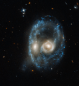 Happy Halloween from Hubble Telescope: Otherworldly 'eyes' glow in ghostly galaxy