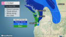 Rain and mountain snow to continue dousing Pacific Northwest this week